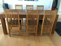 6 stühle eiche massiv esszimmer esstischstühle