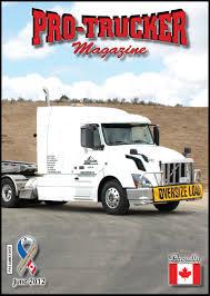 100 Gi Trucking Cover ProTrucker Magazine Canadas Magazine