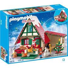 maison du pere noel playmobil playmobil 5976 maisonnette du père noël achat vente