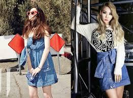 Photo Credits Left Kmagazineloverstumblr Tagged KrystalKmagzinelovers On Tumbler Right Beautiful Korean Artists