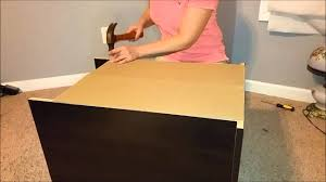 South Shore Libra Dresser Instructions by Ameriwood Industries Assembly Tip Videos How To Attach A Back