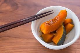 Japanese Pumpkin Recipe Roasted by Sweet And Savory Kabocha Pumpkin Recipe Fresh Tastes Pbs Food