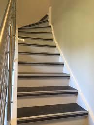beton cire sur escalier bois rénovation escalier bois 68440 dietwiller escalier