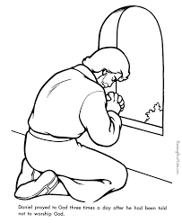 Daniel Bible Page To Print And Color Coloring Pages For