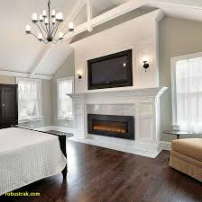 New Electric Fireplace In Dining Room