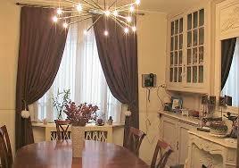 rideaux salle a manger idée déco salle à manger rideaux