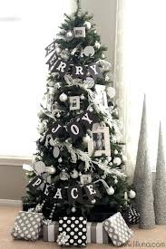 Ingenious Ideas Black Tree With Red Decorations And Christmas Plaid Ornaments Awesome Design