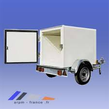 remorque chambre froide occasion remorques frigorifiques 12v 220v sur mesures arpm