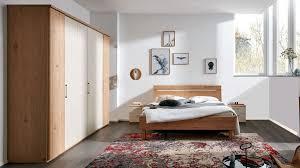 interliving schlafzimmer serie 1013 komplettzimmer balkeneiche sand vierteilig holzfüße