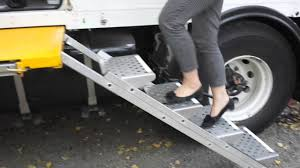 Folding Stairs For Our MAN Expedition Truck - YouTube