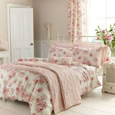 Classic Pink And White Isabella Bedding From Dunelm Mill
