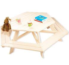 chaise enfant en bois table hexagone et chaise enfant en bois nicki pinolino natiloo