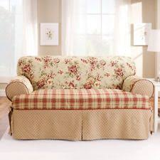 Sure Fit Sofa Covers Ebay by Sofa Slipcover T Cushion Ebay