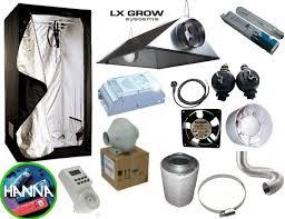 kit chambre culture pack chambre de culture box le hps mh 600w extracteur