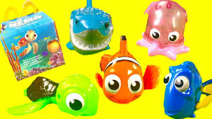 finding nemo mcdonald s happy meal toys dory marlin pearl bath
