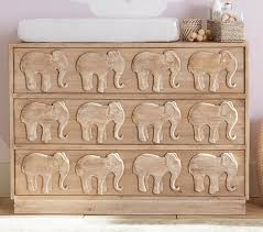 elephant nursery dresser pottery barn kids