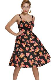 find more dresses information about black pin up digital floral