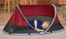 kidco peapod travel bed kidco peapod cranberry infant and toddler travel