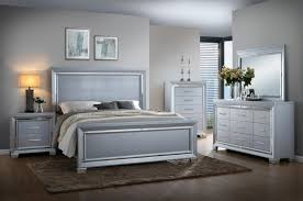 Luca Silver Bedroom Set