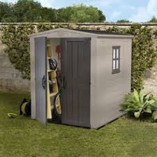 Suncast Resin Glidetop Outdoor Storage Shed Bms4900 by Low Height Shed U2013 Suncast Glidetop Shed Low Maintenance Easy To