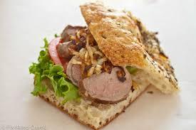 Bifana – Sliced Pork Tenderloin Sandwich