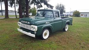 This Gorgeous Green 1959 Ford F-100 Is The One To Get - Ford-Trucks.com 1959 Ford F100 Greenwhite Youtube All Natural Ford Awesome Amazing 2018 Pick Em Ups 4clt01o1959fordf100pjectherobox Hot Rod Network Stress Buster 59 Styleside Pickup Vintage Ad Cars Pinterest Vintage Ads File1959 Truck 4835511497jpg Wikimedia Commons Minor Sensation Fordtruck 12 59ft4750d Desert Valley Auto Parts 247 Autoholic Truck Tuesday