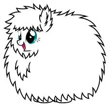 Fluffle Puff Base By BronyoftheWorld