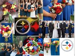 Red Yellow Blue Wedding Color Theme