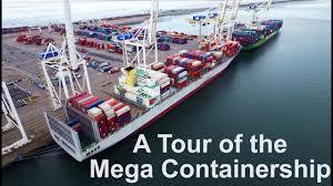 100 Shipping Container Shipping Tour Of The Mega Ship Life At Sea Mariners Vlog 3
