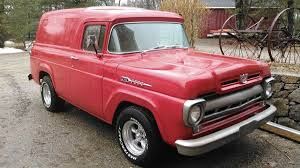 1960 Ford F100 For Sale #2141758 - Hemmings Motor News | Panel ... Ford F100 Stock Photos Images Alamy 1960 Hot Rod Network Fseries Third Generation Wikipedia Tricked Out 1956 Panel Truck Yay Or Nay Fordtruckscom Subtle And Clean For Sale Classiccarscom Cc1116627 Custom Cab Sale 76016 Mcg Van Cc1015538 From The Archives 1952 Anglia Panel Van Hemmings Daily The Classic Pickup Buyers Guide Drive