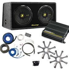Kicker Bass Package - Dual 12