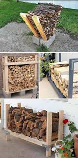 9 Super Easy DIY Outdoor Firewood Racks – iSeeiDoiMake