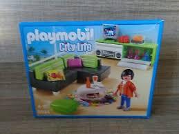 playmobil city modernes wohnzimmer 5584 für luxusvilla