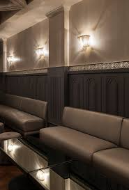 installation gallery maxim lighting banquette