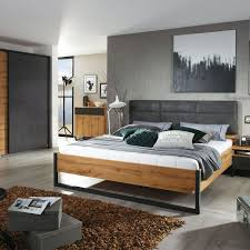 rauch packs ta schlafzimmer 4 teilig bestehend aus bett nachttischen und schwebetürenschrank mit passepartout rahmen farbausführung dekor druck