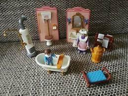playmobil 5324 badezimmer nostalgie puppenhaus villa rosa serie 5300 5305
