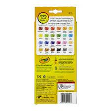 Crayola Bathtub Crayons 18 Vibrant Colors by Crayola 24 Count Colored Pencils Walmart Com