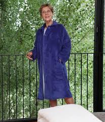 robe de chambre polaire femme zipp nogent robe de chambre polaire nuit vêtements pour séniors