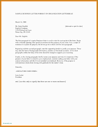 Semi Formal Letter Greeting Block Business Letters Sample Example