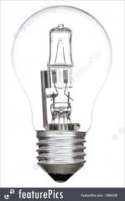 electrical objects halogen light bulb stock picture i3694338 at
