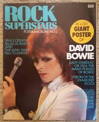 100 Penthouse Maga David Bowie Rock Superstars Large POSTER MAGAZINE 36 X 22