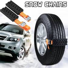 Car Snow Chains Anti Skid Strap 2PCS