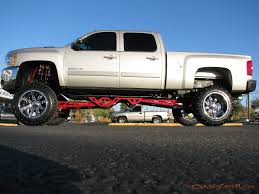 Lifted Dodge Diesel Trucks | Chevy 2500 HD KMC Chrome Diesel 22