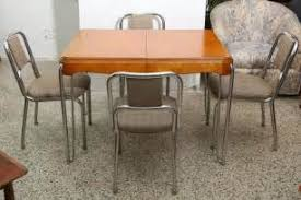 UHURU FURNITURE COLLECTIBLES SOLD 1940s Kitchen Table 1940