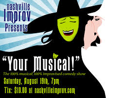 Halloween Central Cookeville Tn by Your Musical At Nashville Improv Presented By Nashville Improv
