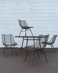 Vintage Homecrest Patio Furniture by 21 Perfect Vintage Wire Patio Chairs Pixelmari Com