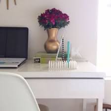 Ikea Besta Burs Desk by Ikea Spotted Bestå Burs Desk In High Gloss White Ribba Picture