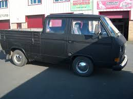 Vw T25 Doka Double Cab Pick Up Rhd Motd Petrol Lpg Converted