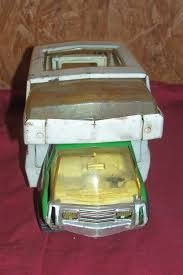 OLD TONKA TOY Camper Van Travel Truck Vintage Pressed Metal Toys ... Vintage Buddy L Red Dump Truck Metal Colctable Baby Room Decor Toy 10 Styles 164 Diecast Vehicle Car Model Kids Educational 148 Pull Back Alloy Container Philippines Ystoddler Toys 132 Tractor Indoor Best Choice Products Ride On Fire Truck Speedster Hot Wheels Monster Jam 124 Assorted Big W Cstruction Trucks For Tonka Steel Trencher Backhoe 11 Cool Garbage Concrete Mixer Ozinga Store The 8 Cars To Buy In 2018 Online Cheap Children Racing Mini