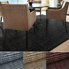 jute teppich urbano bouclé handgewebt 6 größen 4 farben